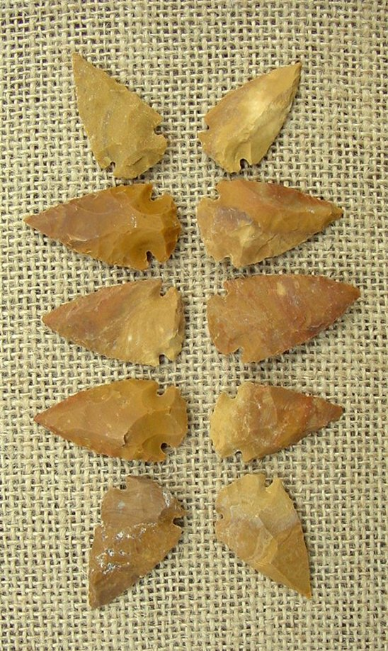 Sandalwood Arrowheads & Spears