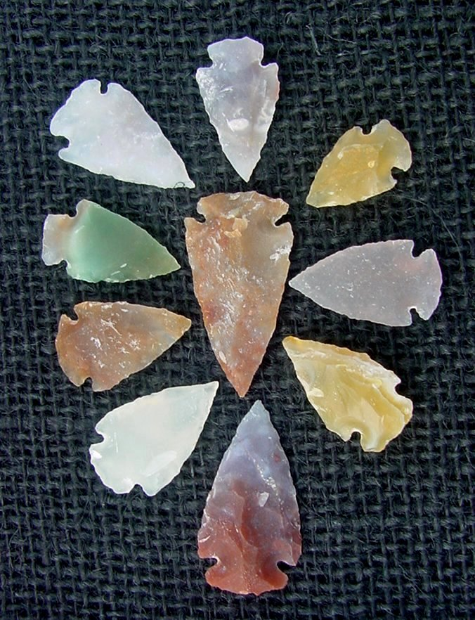 Multi Colored Arrowheads