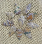10 arrowheads reproduction specialty beautiful arrowheads ks174