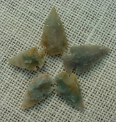 5 transparent arrowheads translucent replica arrowheads sa388