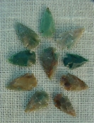 10 transparent arrowheads translucent replica arrowheads sa384