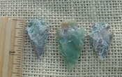3 matching arrowheads for earrings & pendant set replica sa893