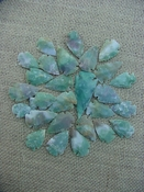25 pc arrowheads 1 spearhead stone reproduction collection kc24