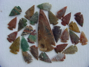 25 Reproduction arrowheads Plus 3 1/2 inch Spearhead x283