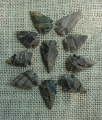 10 stone arrowheads all natural stone replica arrow heads sa548