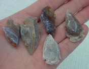 5 druzy arrowheads replica beautiful all natural druzy drusy dr2