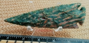 5 inch spearhead reproduction spear point agate or jasper ya302