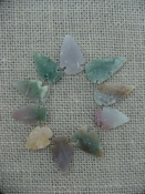 Semi translucent 10 arrowheads reproduction arrowheads k67