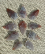 Translucent transparent 10 arrowheads replica arrowheads tp110