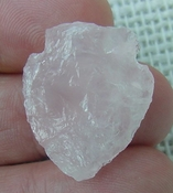 "1.16"" inch pink rose quartz arrowhead rose quartz chakra wrq2"