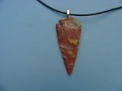 "2 1/2"" arrowhead necklace reproduction beautiful replica wrn47"