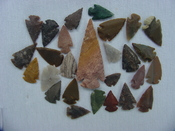 25 Reproduction arrowheads Plus 3 1/4 inch Spearhead x224