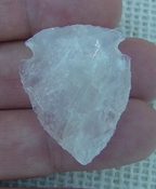"1.43"" inch pink rose quartz arrowhead rose quartz chakra wrq13"
