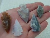 5 druzy arrowheads replica beautiful all natural druzy drusy dr1