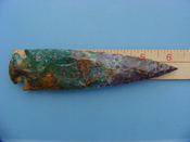 Reproduction spearheads 6 1/4 inch jasper z349