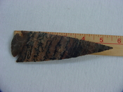 Reproduction Spearhead 5 1/2 inch jasper X446