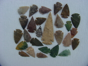 25 Reproduction arrowheads Plus 3 inch Spearhead x237