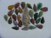 25 Reproduction arrowheads Plus 3 1/4 inch Spearhead x287