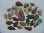 25 Reproduction Arrowheads Plus 2 1/2 inch Spearhead x222