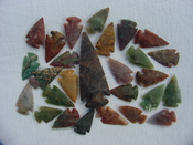 25 Reproduction arrowheads Plus 3 inch Spearhead x300