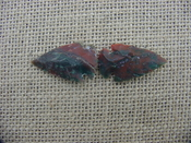 2 special arrowheads reproduction multi colored arrowheads k82