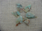6 special arrowheads reproduction multi colored arrowheads k46