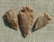 3 matching arrowheads for earrings & pendant set replica sa586
