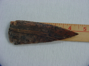 Reproduction Spearhead 4 1/2 inch jasper x385