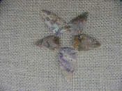 5 special arrowheads reproduction multi colored arrowheads k62