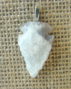 1.21 drussy arrowhead necklace replica beautiful crystal na159