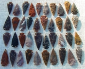 "1 spearhead arrowheads reproduction 2"" inch replica points 2bu6"