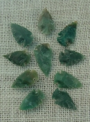 10 transparent arrowheads translucent replica arrowheads sa376