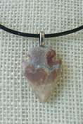 "1.18"" druzie reproduction arrowhead necklace drusy crystal na60"