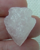 "1.17"" inch pink rose quartz arrowhead rose quartz chakra wrq1"