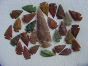 25 Reproduction arrowheads Plus 3 1/2 inch Spearhead x292