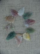 Semi translucent 10 arrowheads reproduction arrowheads k70