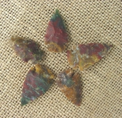 5 special arrowheads reproduction beautiful arrowheads ks164