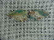 2 special arrowheads reproduction multi colored arrowheads k112