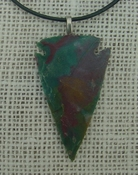 "2.23"" arrowhead necklace replica arrow head point necklace na90"