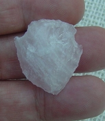 "1.18"" inch pink rose quartz arrowhead rose quartz chakra wrq3"