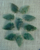10 transparent arrowheads translucent replica arrowheads sa377