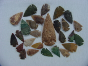 25 Reproduction arrowheads Plus 3 inch Spearhead x226