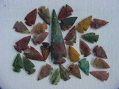 25 Reproduction arrowheads Plus 3 1/2 inch Spearhead x298
