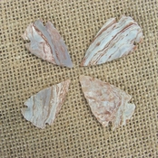 4 special arrowheads reproduction beautiful arrowheads ks209
